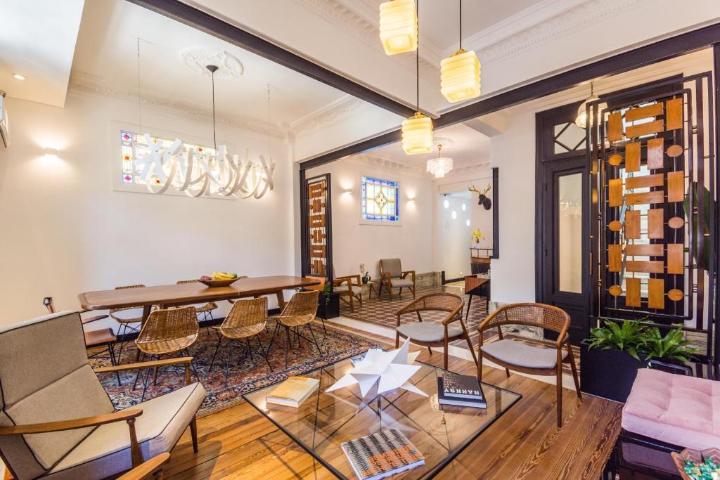 Um restaurante ou outro lugar para comer em FAUNA Montevideo