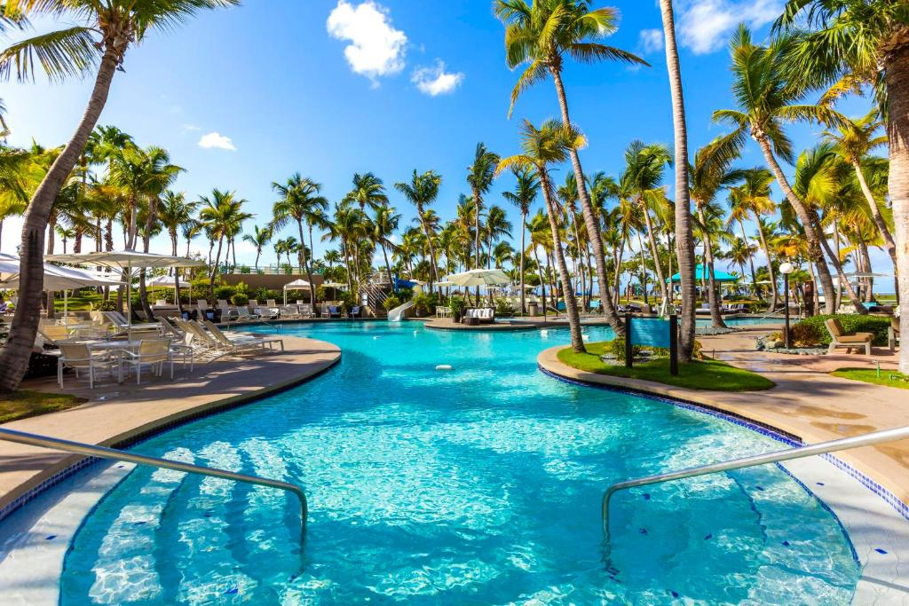 The swimming pool at or close to Hilton Ponce Golf & Casino Resort