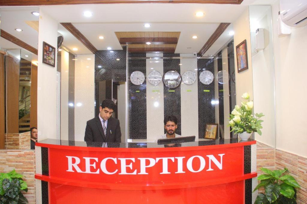 The lobby or reception area at CP Hotel Islamabad