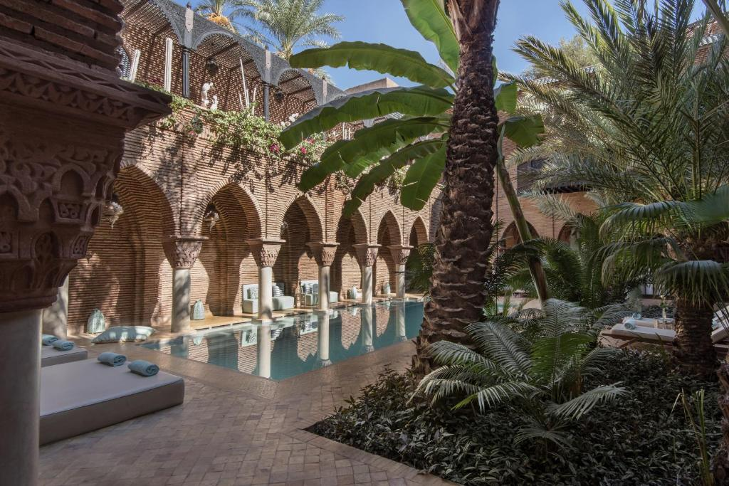 The swimming pool at or close to La Sultana Marrakech