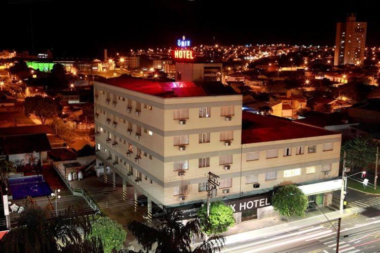 A bird's-eye view of Ônix Hotel