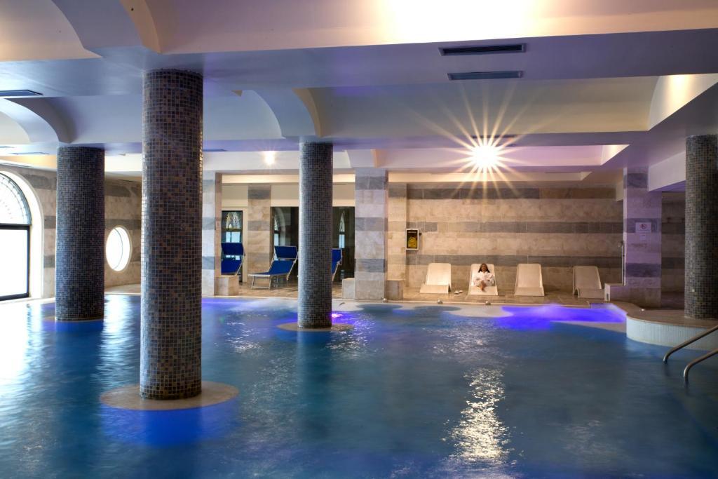 The swimming pool at or near Hotel Baglio Basile