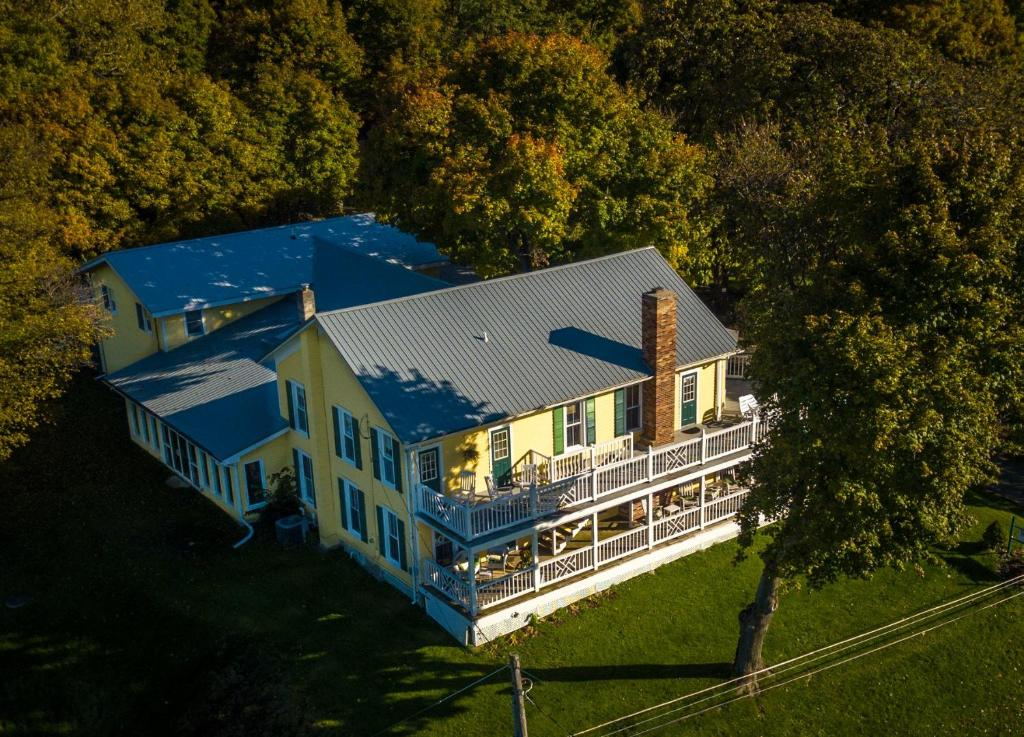 A bird's-eye view of Magnolia Place Bed and Breakfast