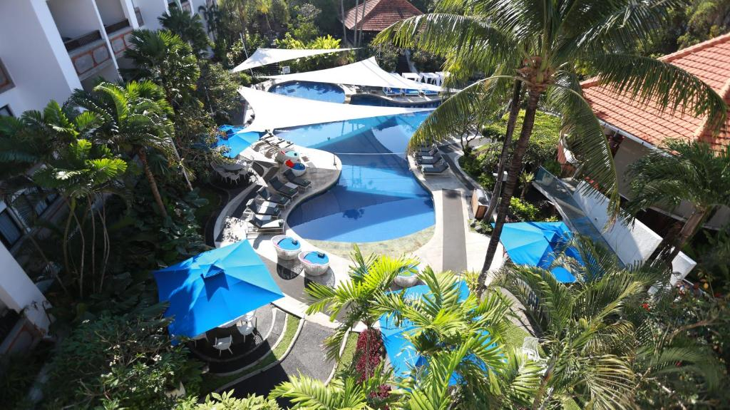 A view of the pool at Prime Plaza Suites Sanur – Bali or nearby