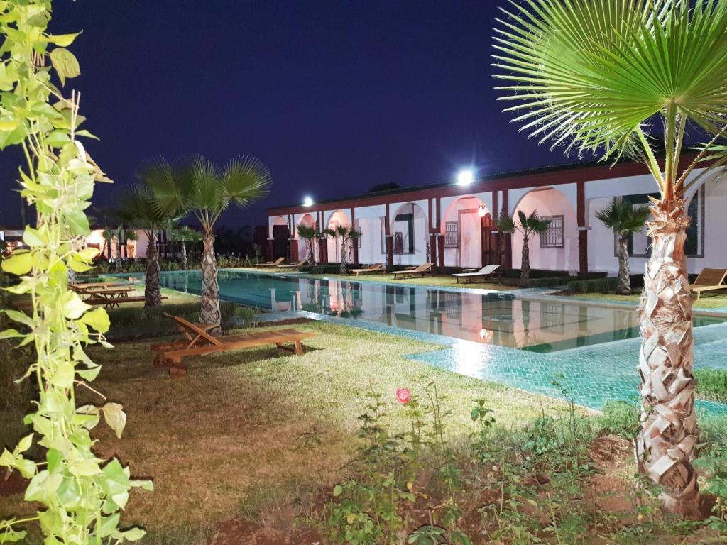 The swimming pool at or near Jnan El Arif