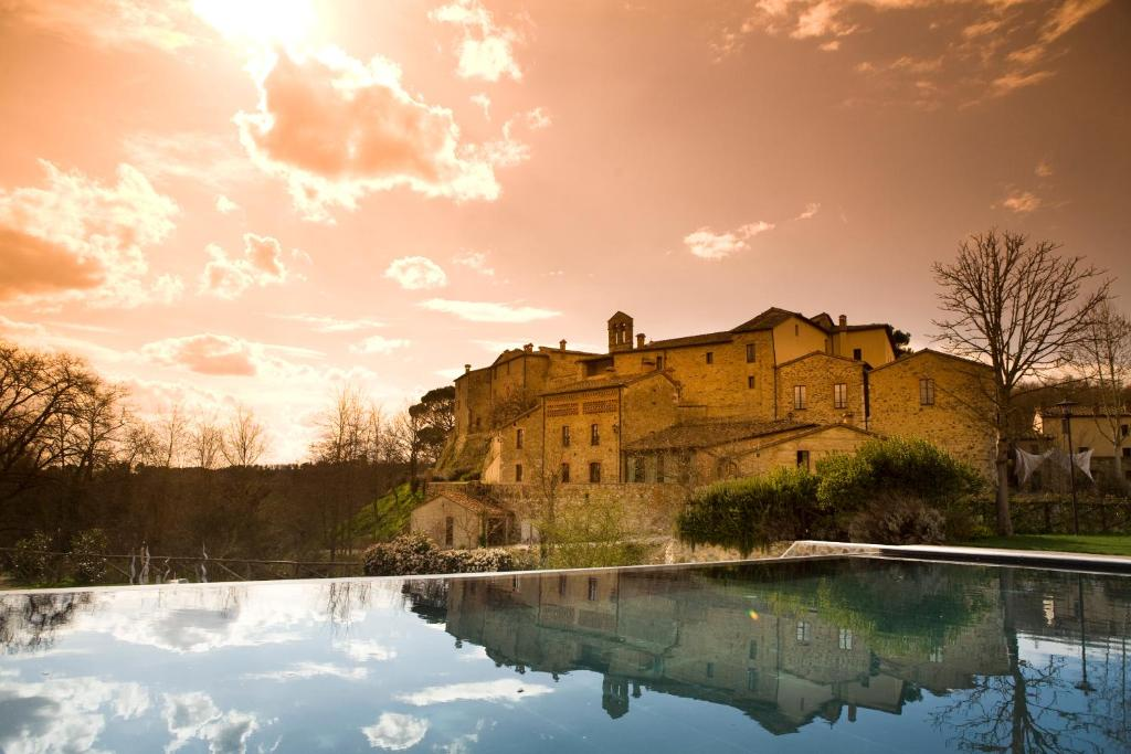 The swimming pool at or near Castel Monastero - The Leading Hotels of the World