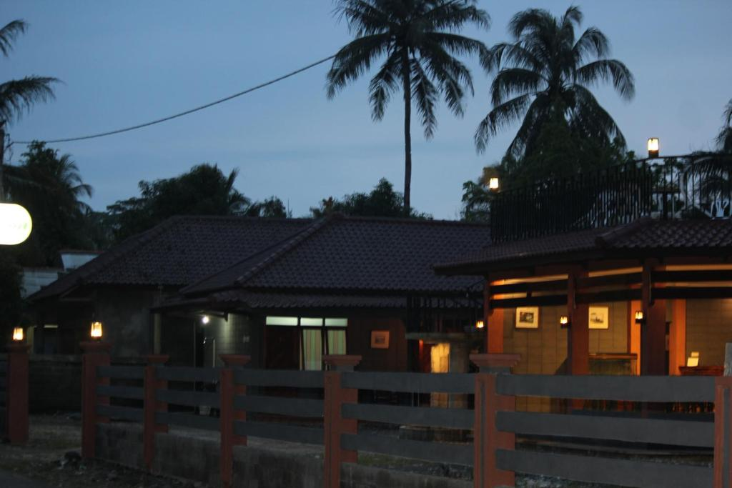 The building where the resort village is located