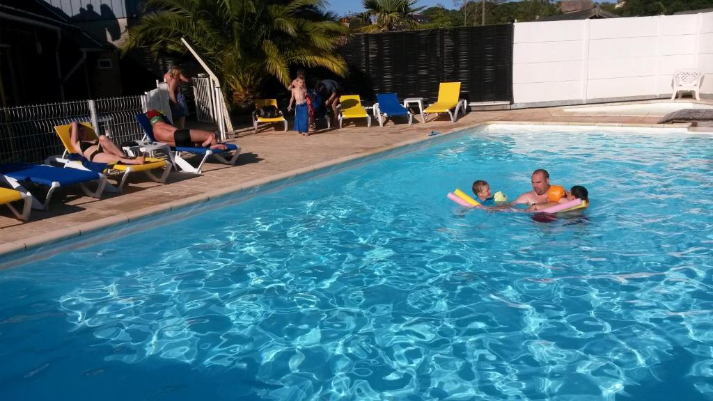 The swimming pool at or near West Camping