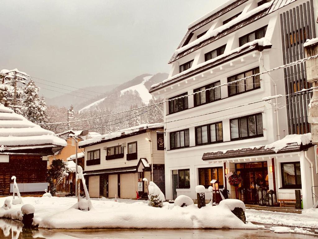Residence Yasushi durante l'inverno