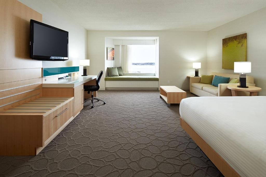 A television and/or entertainment center at Delta Hotels by Marriott Prince Edward