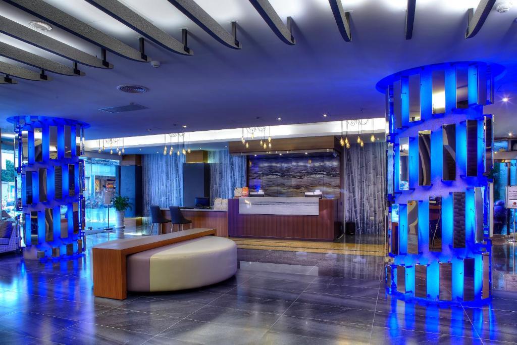 悅豪大飯店-新竹館大廳或接待區