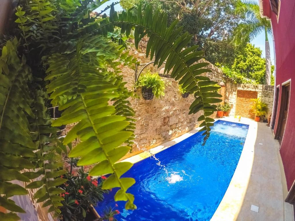 A view of the pool at Hotel Casa Castel By GB Collection or nearby