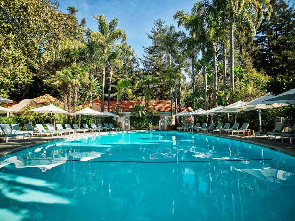 The swimming pool at or close to Hotel Bel-Air - Dorchester Collection