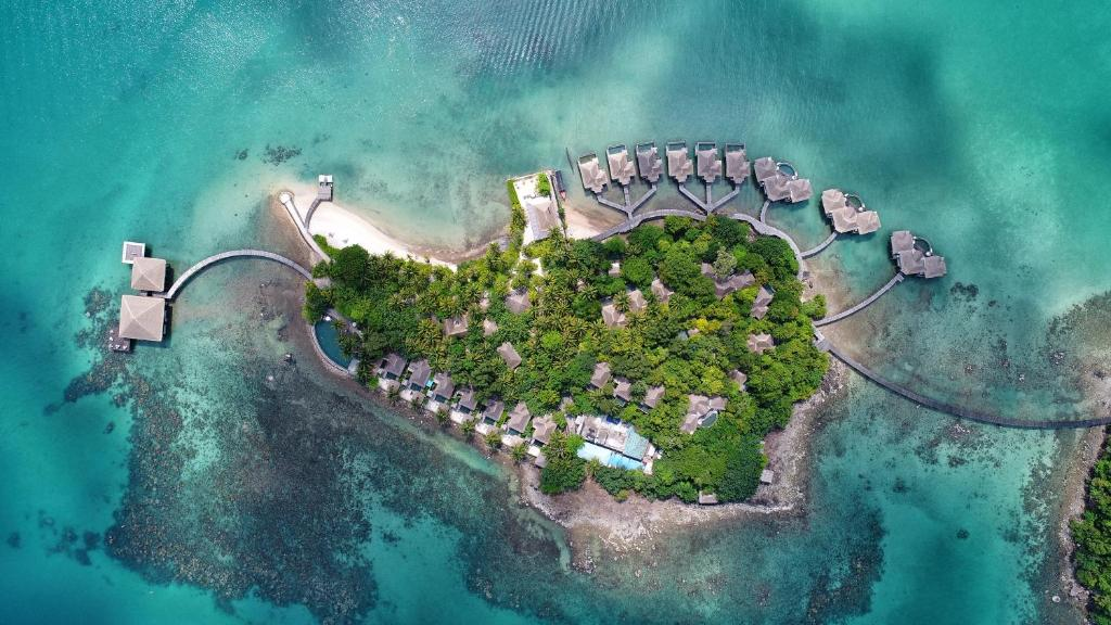 A bird's-eye view of Song Saa Private Island
