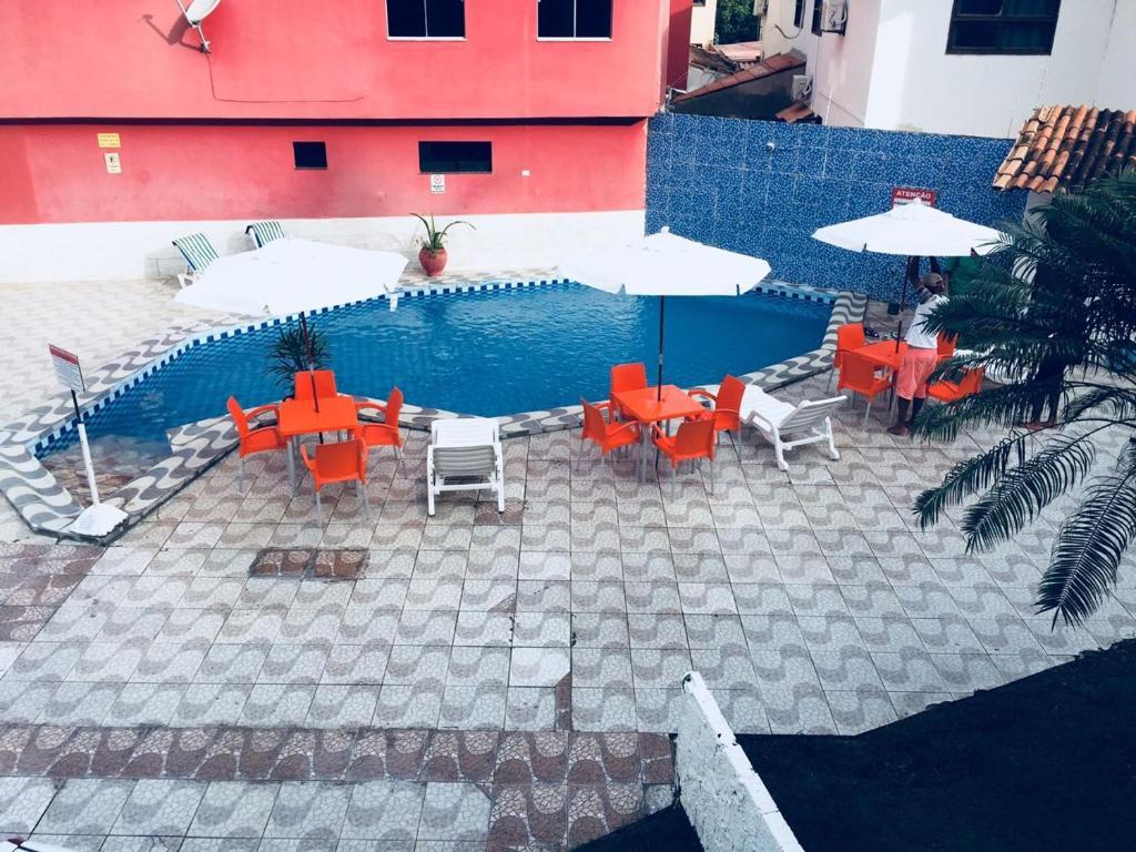 The swimming pool at or near Vista Mar