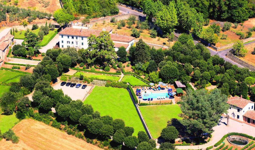 A bird's-eye view of Cortona Resort & Spa - Villa Aurea
