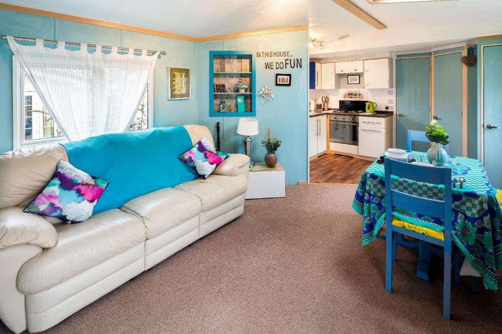 A seating area at Holiday Home Beauport