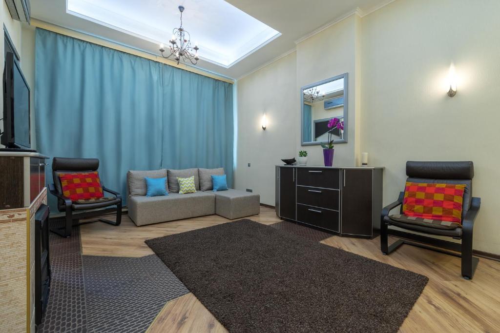 Гостиная зона в Dream House на Смоленской