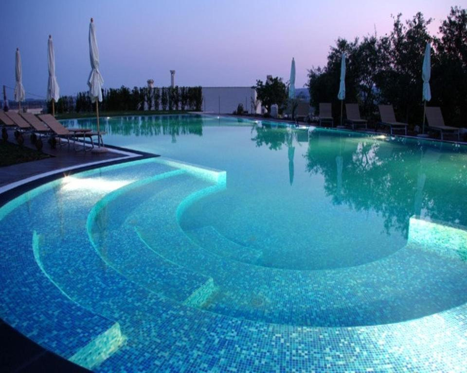 The swimming pool at or near Kallikoros Country Resort & Spa