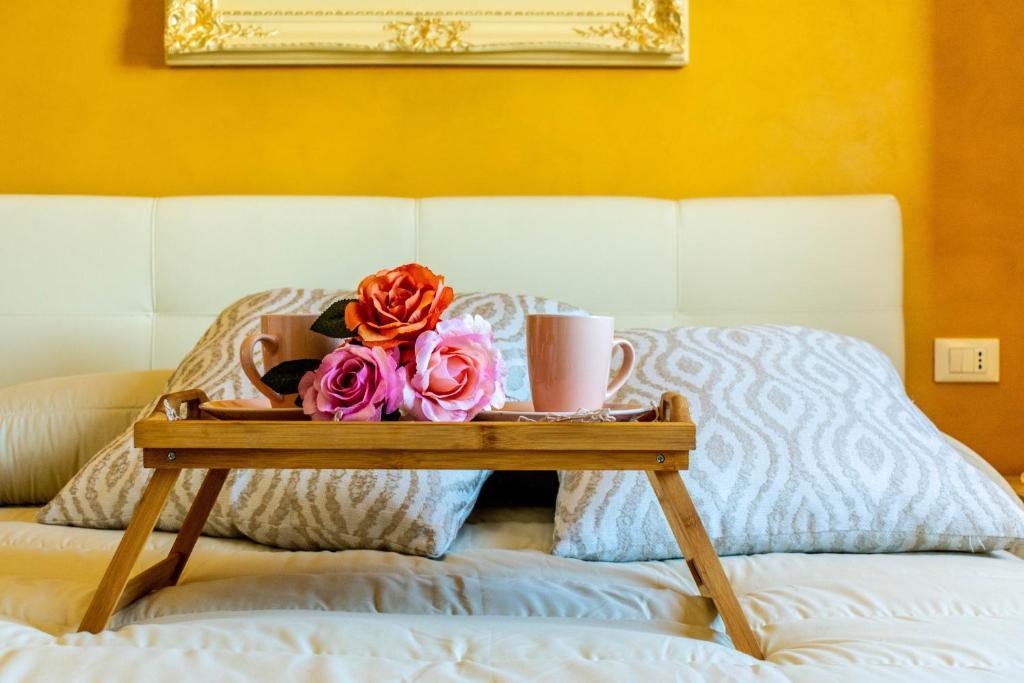 Letto o letti in una camera di La Casa del Nonno