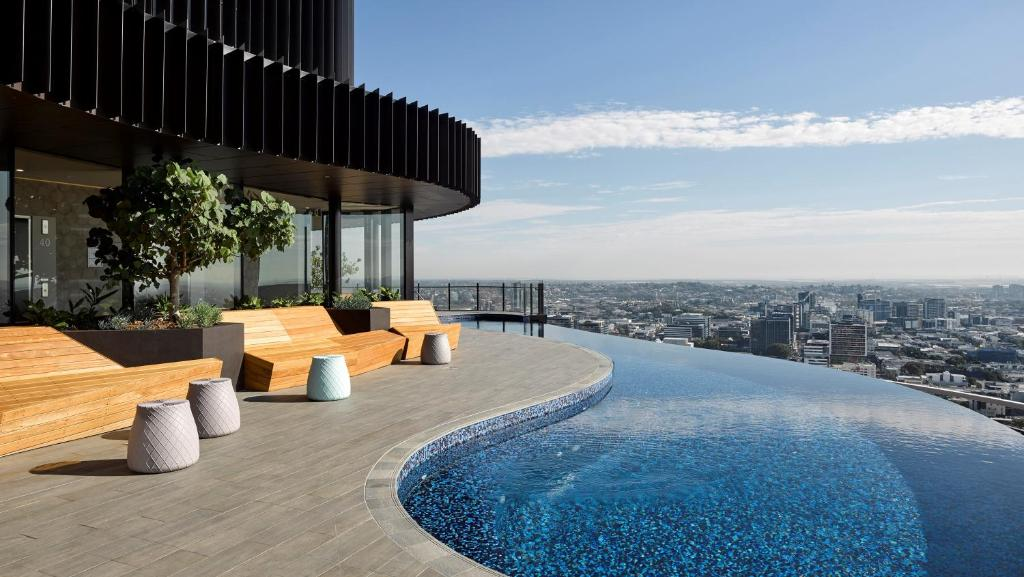 The swimming pool at or near Spire Residences
