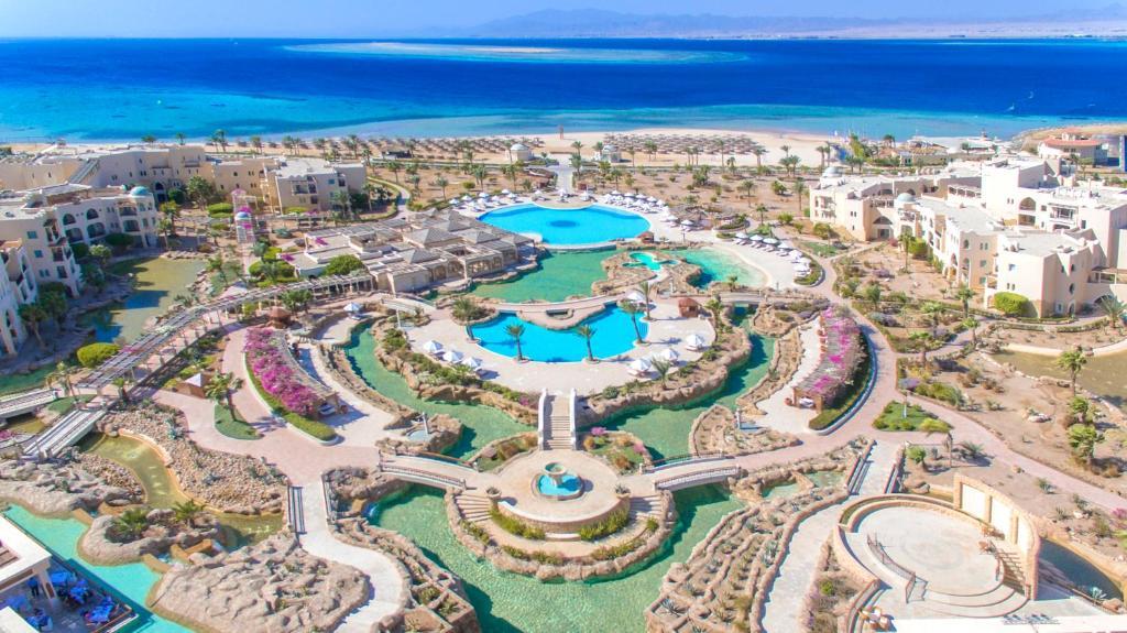 Uma vista aérea de Kempinski Hotel Soma Bay