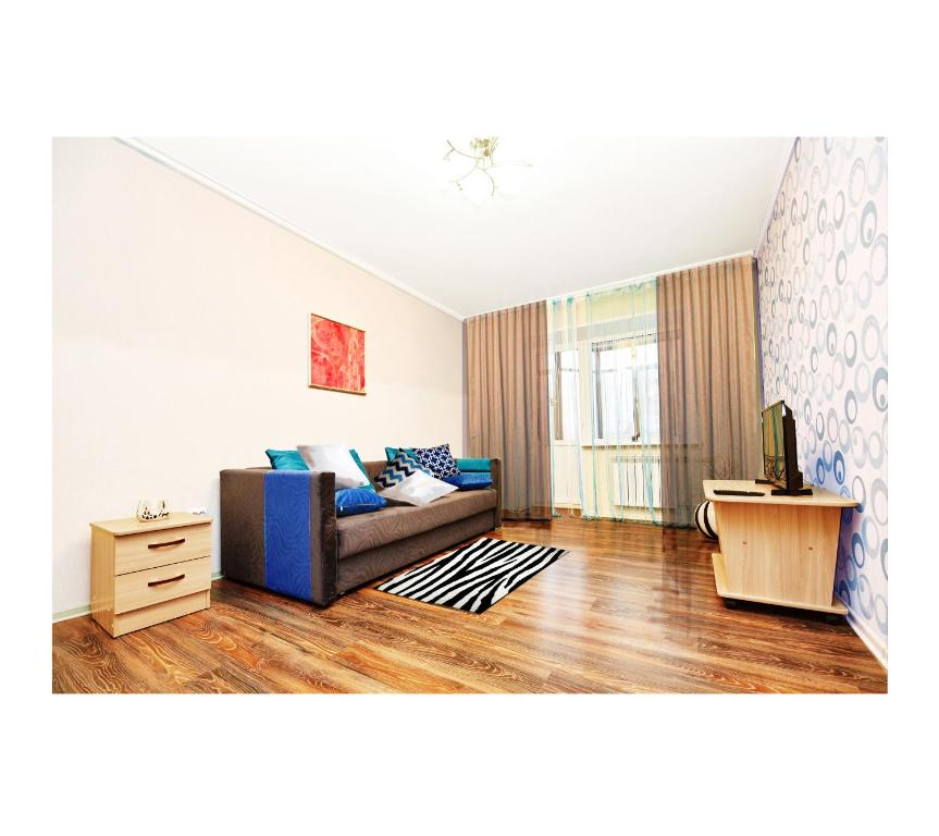 Гостиная зона в Apartment on Lermantova