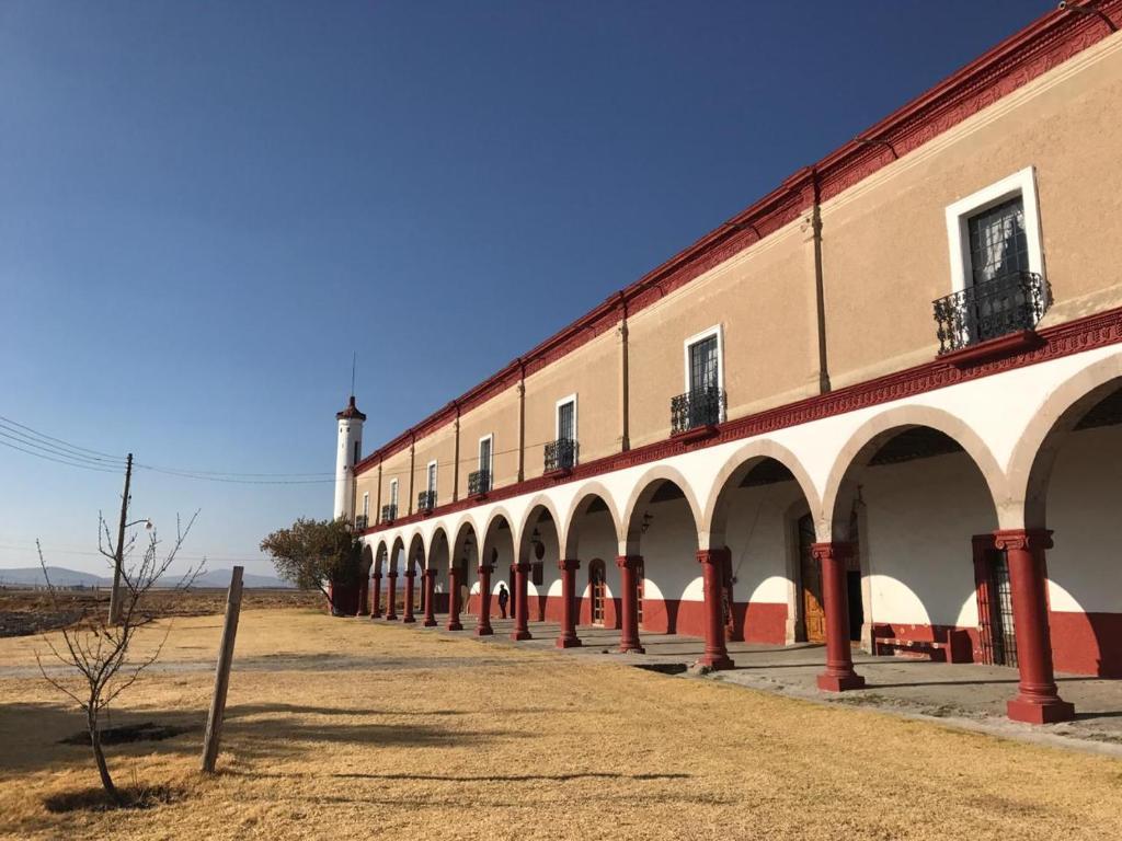 hacienda de San Buenaventura, una de las más bellas de Tlaxcala