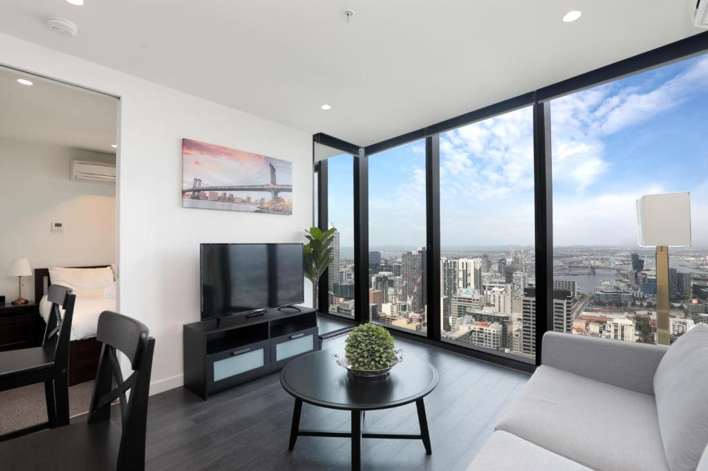 Luxury Apartment With 56 Level City View Melbourne Australia Booking Com