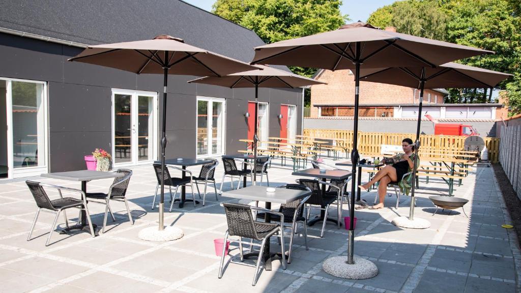 En restaurant eller et andet spisested på Pitstop Idestrup