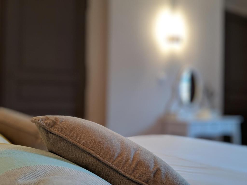 Un ou plusieurs lits dans un hébergement de l'établissement Loge Montaigne