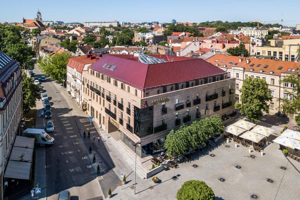 A bird's-eye view of Amberton Cathedral Square Hotel Vilnius