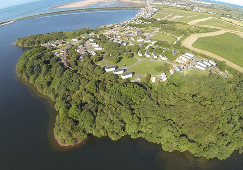 A bird's-eye view of Port Haverigg Holiday Village