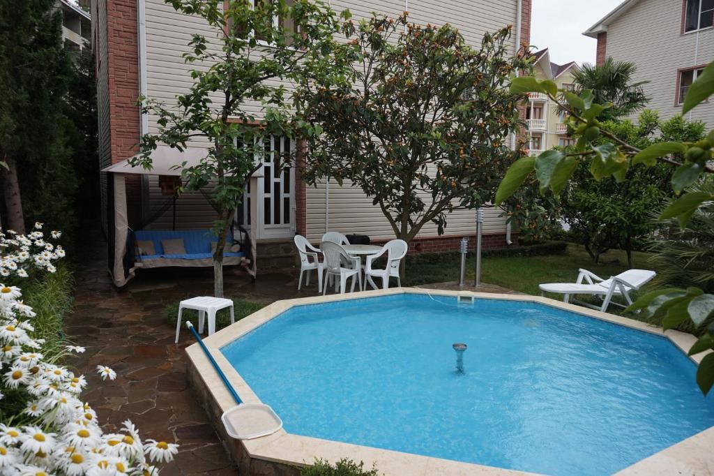 The swimming pool at or near Александрия