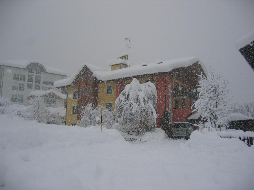 Hotel La Betulla зимой