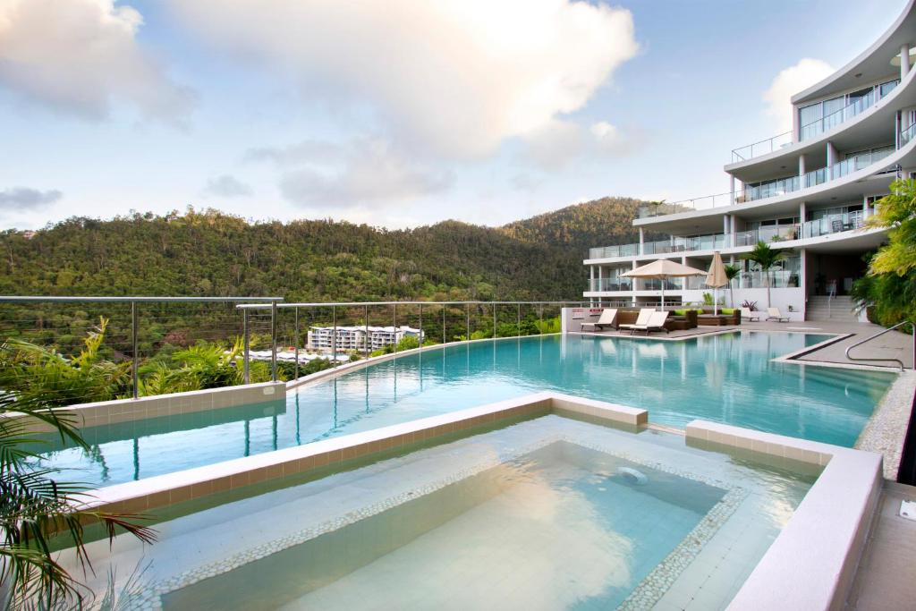 The swimming pool at or near Serenity Views