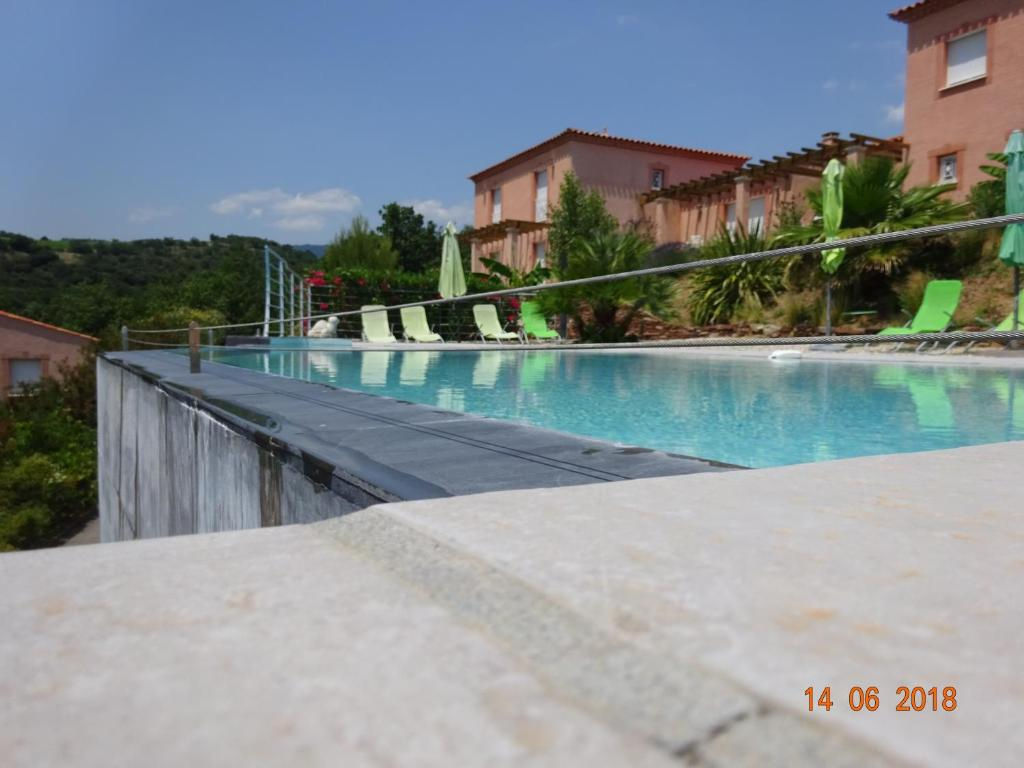 The swimming pool at or near Domaine de Flo