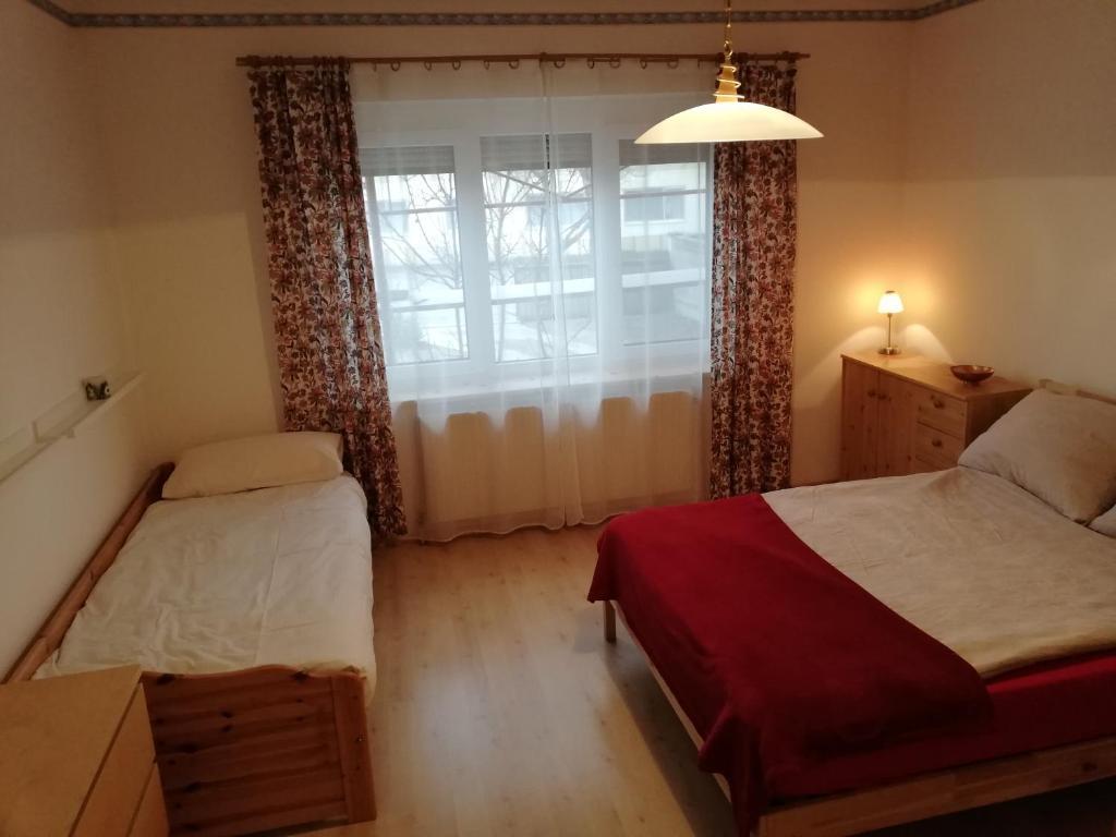 Ein Bett oder Betten in einem Zimmer der Unterkunft Cosy Room near Lake Neusiedl and National Park