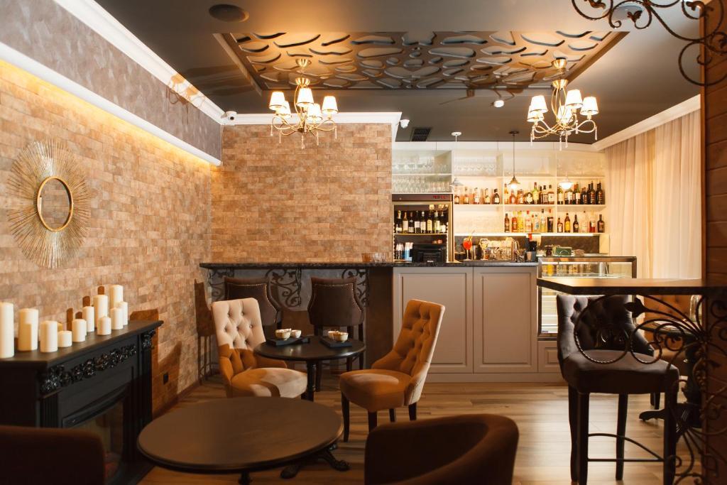 Лаундж или бар в Спа Отель Грейс Империал