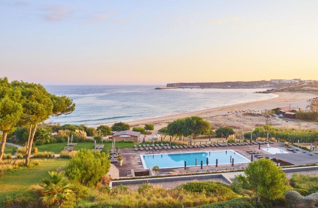 A view of the pool at Martinhal Sagres Beach Family Resort Hotel or nearby