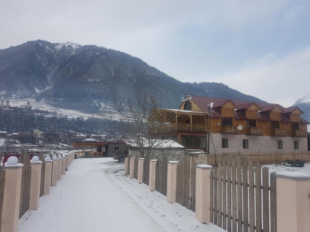 Riverside Mestia зимой