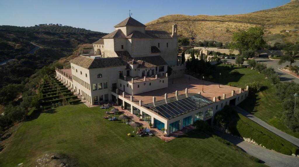 A bird's-eye view of Hotel Dwo Convento la Magdalena