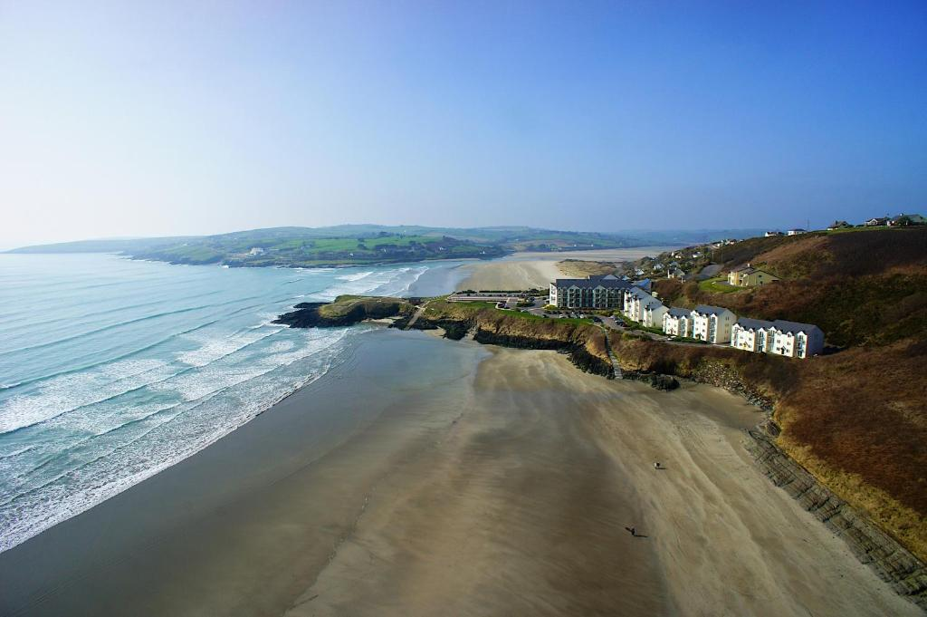 A bird's-eye view of Inchydoney Island Lodge & Spa