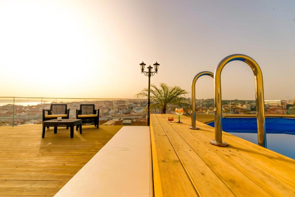 The swimming pool at or near Garden Rooftop by Imperium