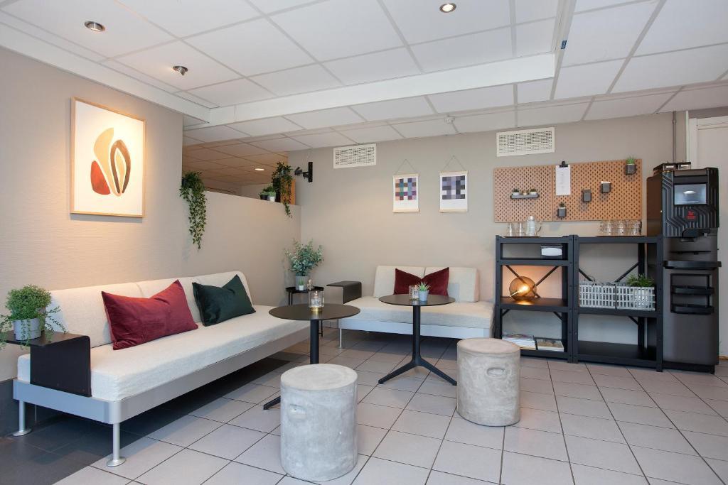 Lobby eller resepsjon på Anker Hostel