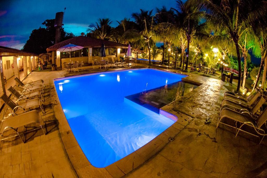 A piscina localizada em Carpe Diem Park Hotel ou nos arredores
