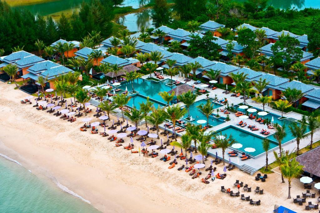 A bird's-eye view of Beyond Resort Khaolak - Adults Only