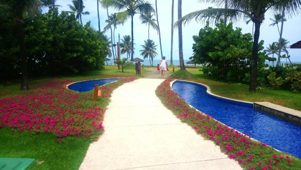 A piscina localizada em Flat Malawi resort dream ou nos arredores