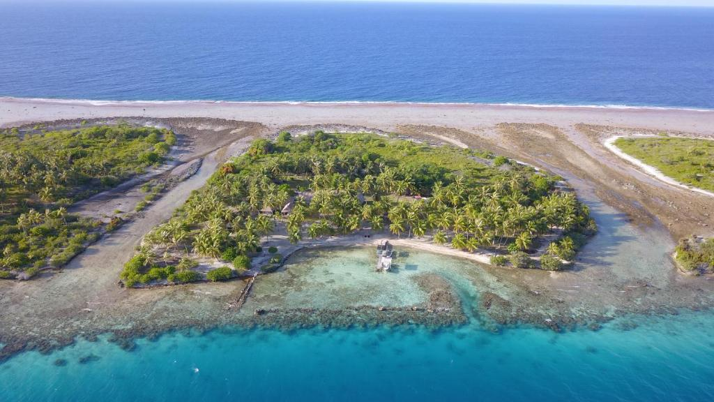A bird's-eye view of Pension Poerani Nui