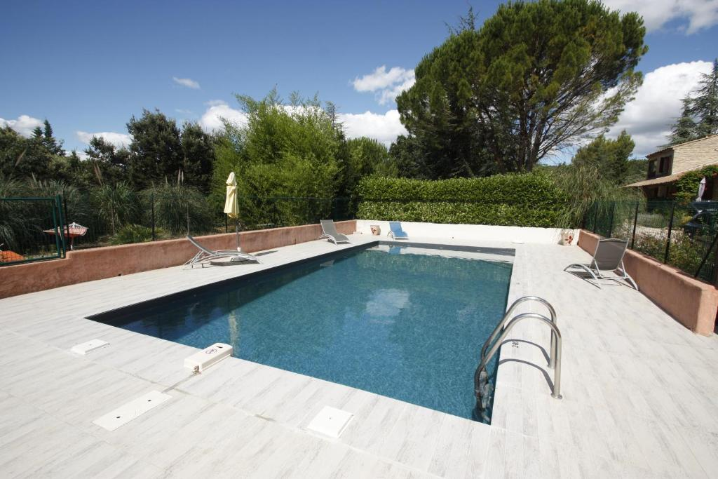 The swimming pool at or near Lou Cigalon